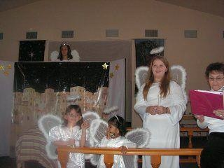 Angels in pageant